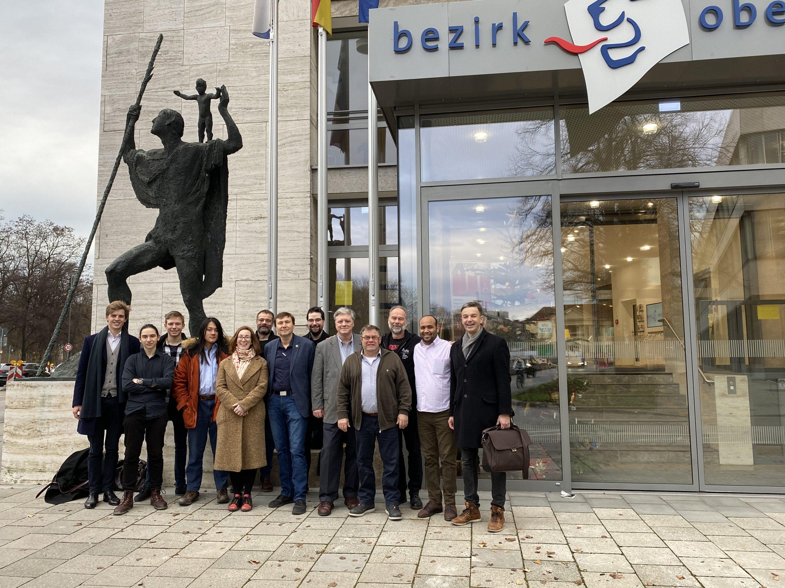 Group Photo BeeXML Team in Munich